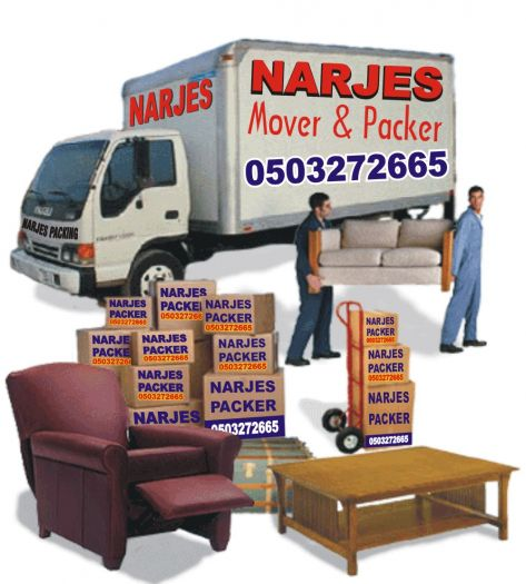 NARJES MOVERS PACKERS & RELOCATIONS 050-3272665